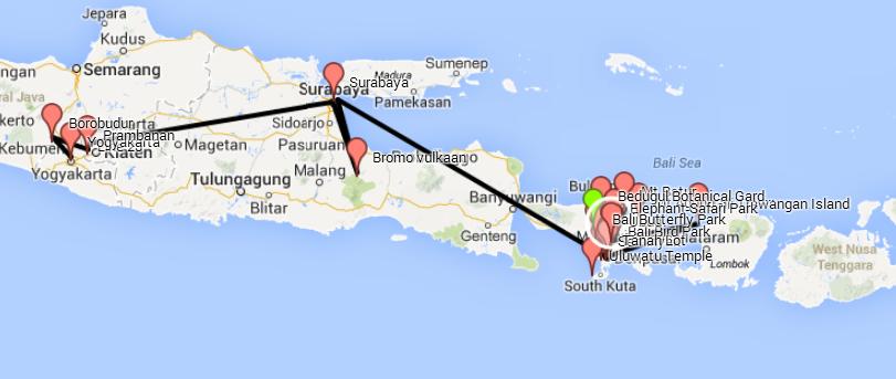 Planning Indonesië