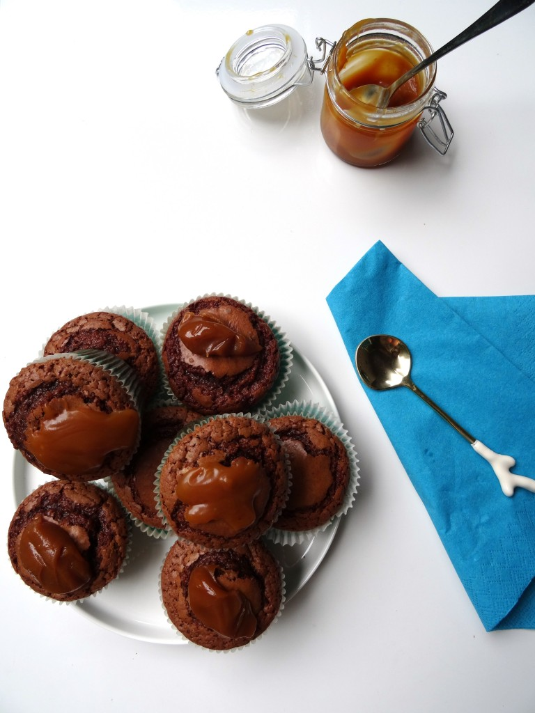 chocoladecake karamel 2