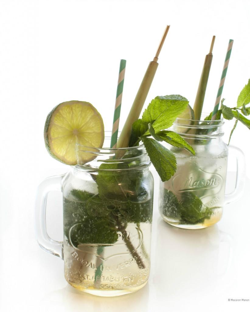 limonade limoen, citroengras, munt copy