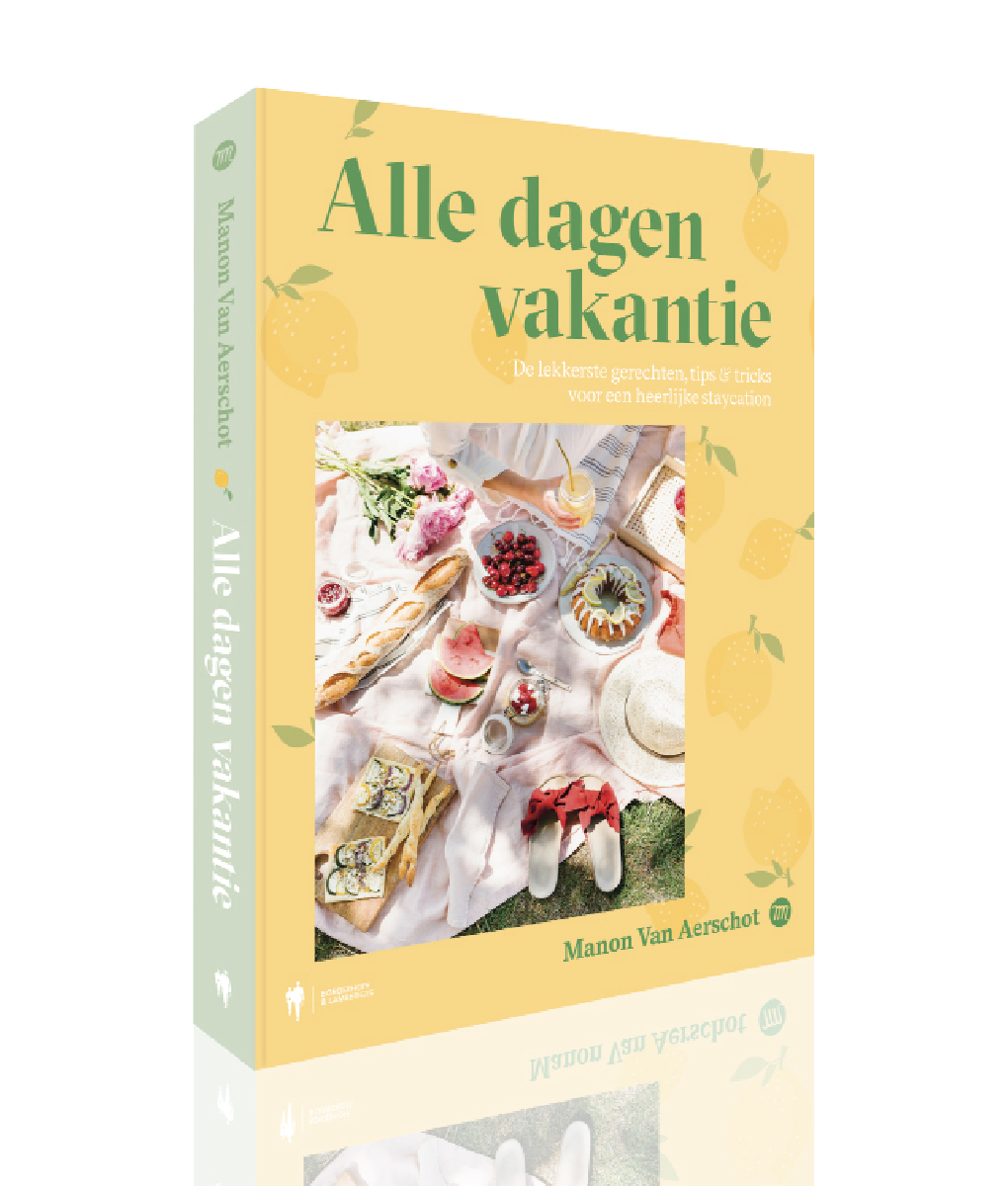 Reserveer een exemplaar van mijn tweede kookboek: Alle dagen vakantie